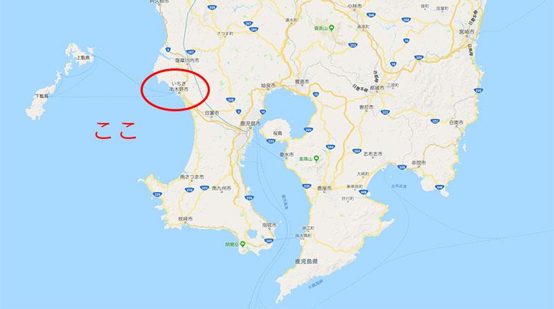 鹿児島県いちき串野市